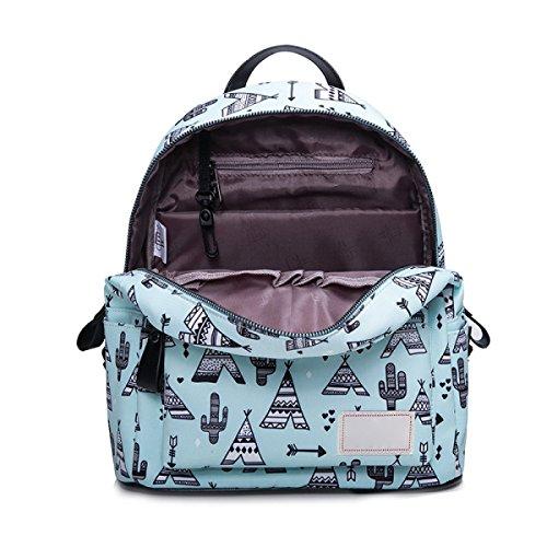 Bolso De Viaje Impermeable De La Mochila Del Estudiante De La Mochila De La Mujer,Style6 Style1