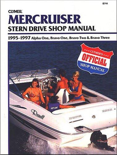 Body Kits Clymer Repair Manual for Mercruiser Stern Drive 1995 ...