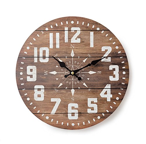 KEYSTONE Old Look Antique design Wall Clock Compass OLCLWCCP from Japan