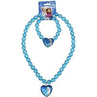 Fancydresswale Frozen Party Flavour Necklace and Bracelet Set- Elsa