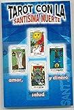 Nuevo Tarot con la Santísima Muerte Set de Libro y Cartas