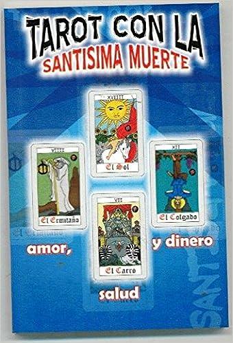 Nuevo Tarot con la Santísima Muerte Set de Libro y Cartas ...