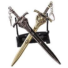 PS4 Game Dark Souls 3 Artorias Alloy Key Chain Pendant (2pcs/set)