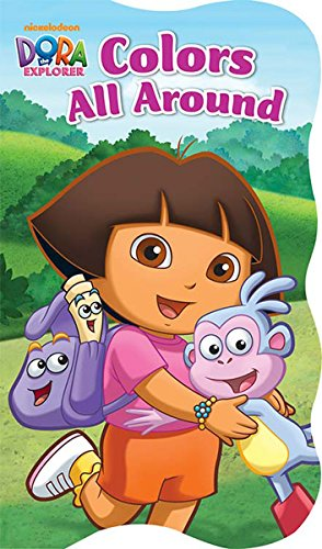 Dora The Explorer Game Board (Dora the Explorer Educational Shaped Board Book (Assorted, Designs Vary) by Nickelodeon)