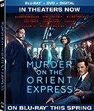 Meurtre à l'Orient Express (Bilingue) [Blu-ray + DVD + Copie numérique]