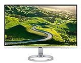 Acer H277HU 69 cm (27 Zoll) IPS Monitor (DVI, HDMI 2.0, USB 3.1 Type C, WQHD 2.560 x 1.440, 4ms Reaktionszeit, EEK B) silber