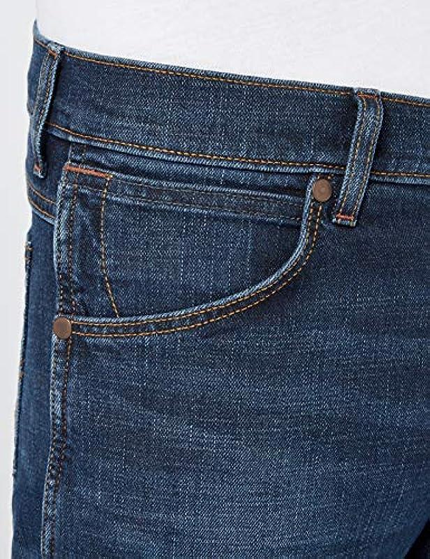 Wrangler Greensboro Water Resistant Jeans męskie: Odzież