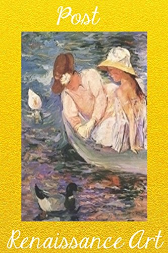 Post Renaissance Art: Enjoy video lectures about the remarkable artists of the French Impressionist movement, and American art of the New World, both of which produced a revolution in painting.