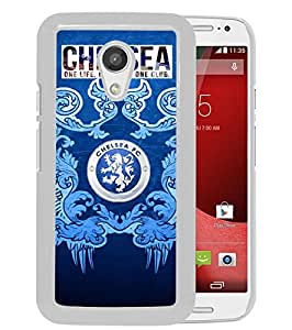 Excellent protection,Lightweight and durable Chelsea 3 White Motorola Moto G (2nd generation) Case