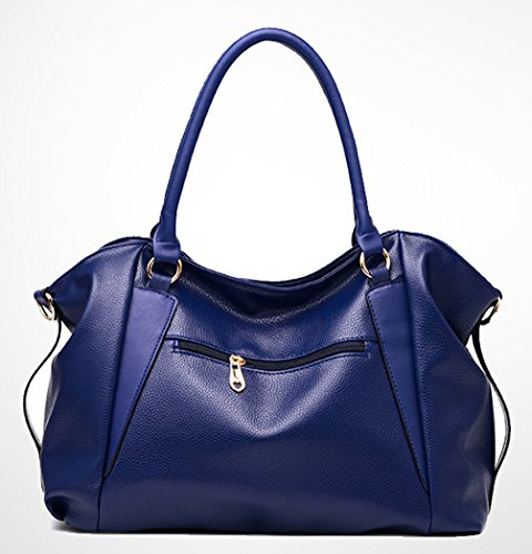 Keshi Pu neuer Stil Damen Handtaschen, Hobo-Bags, Schultertaschen, Beutel, Beuteltaschen, Trend-Bags, Velours, Veloursleder, Wildleder, Tasche Braun