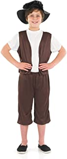 Tudor Boy - Childrens Fancy Dress Costume Medium 6-8 Years  sc 1 st  Amazon UK & Shrek Costume Kids Orge Outfit Small Age 3 - 4 HEIGHT 3u0027 8