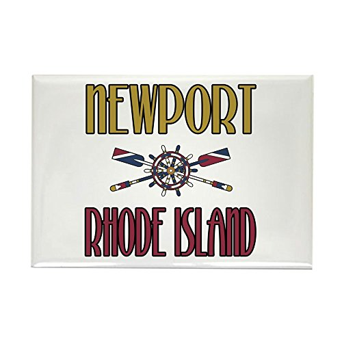 CafePress - Newport RI - Rectangle Magnet, 2