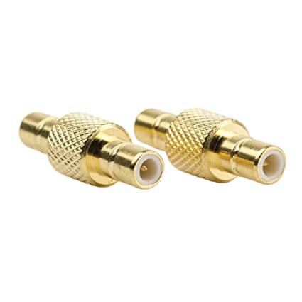 Eagles SMB Male to SMB Male Connector (Pack of 2) RF Coaxial Coax Adapter