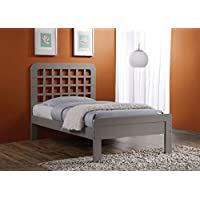 ACME Furniture 25375T 2 Count Lyford Bed, Twin, Gray