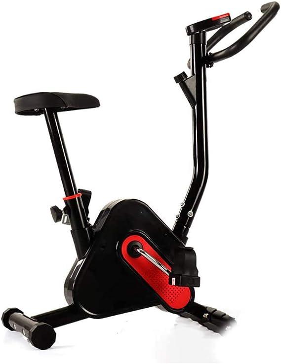 HyXia Bicicleta Estática con SillíN Ajustable Y Pantalla LCD para ...