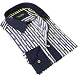 Banana Lemon Casual Fit Wear Button-Down Fashion Dress Shirt For Men (More Styles Available)