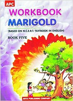 Book Workbook Marigold- V (based on NCERT English textbooks)