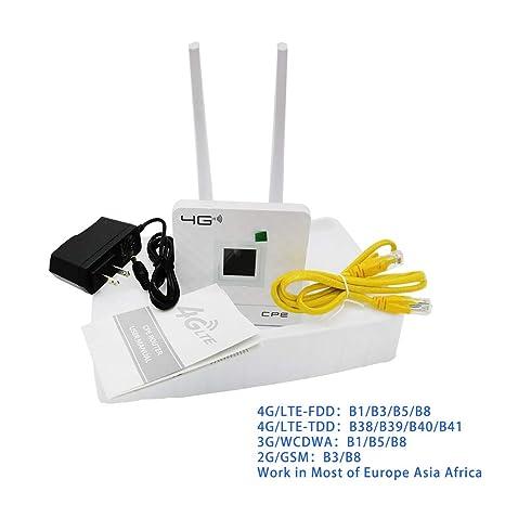 yinuneronsty Inalámbrico CPE 4G WiFi Router Gateway Portátil ...