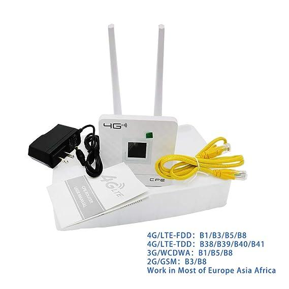 Amazon com: TIANYA Wireless CPE 4G WiFi Router Portable
