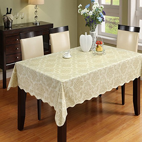 Eforgift Pastoral Earth Paisley Design PVC Table Cover St..