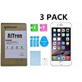 iPhone 6 / iPhone 6s [ 4.7 inch] [ 3 Pack ] AiTron Tempered Glass Screen Protector Glass High Definition / Anti-Oil / 2.5D Rounded Edges / 9H Hardness/Scratch Proof / 3D TOUCH