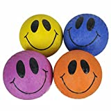 5'' Smile Face Playground Ball Novelty Gift Item Play Fun Outdoor Toy