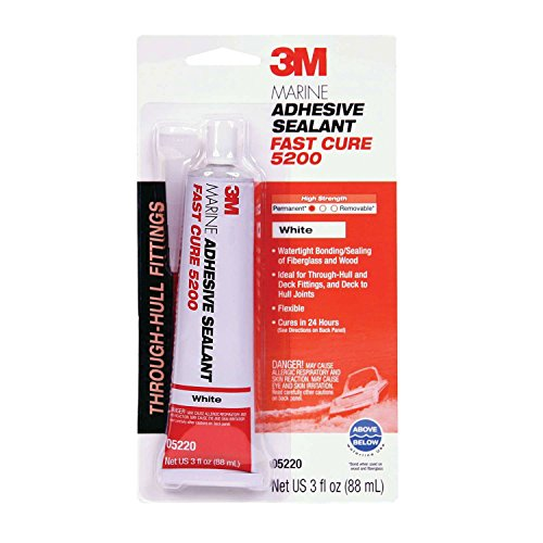 sive/Sealant 5200 Fast Cure, 3 oz. / White ()
