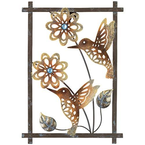 Regal Art & Gift 12366 Sienna Decor-Hummingbird Wall Décor, Pewter -