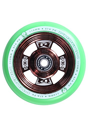 Phoenix Rotor Pro Scooter Wheel 110mm with ABEC - Pro Grit Scooter Wheels