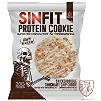 Sinister Labs Sinfit Snickerdoodle Cookie, 78 g, Pack of 10