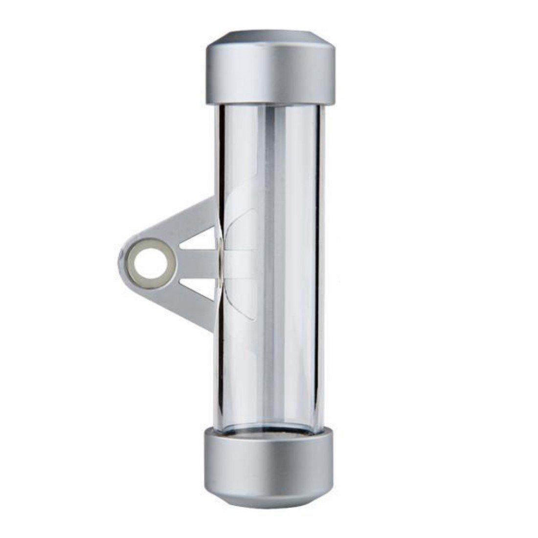 Tube porte-vignette cylindrique en acrylique et aluminium pour moto LovelyLifeAST LEPACA2256