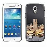 LASTONE PHONE CASE / Slim Protector Hard Shell Cover Case for Samsung Galaxy S4 Mini i9190 MINI VERSION! / Autumn Clean Image Photo Fall Grey