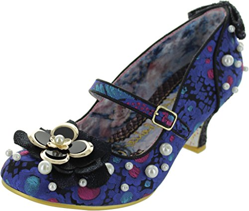Women's Winks Tiddly Choice Blue Textile Janes Irregular Mary wPtvnxqRO5