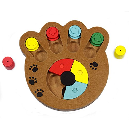 Leeaw Interactive Treated Wooden Puzzle