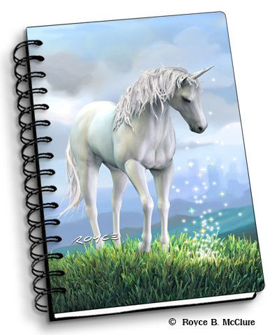 """Unicorn - 4"""" x 6"""" 3D Notebook from Artgame 3D"""