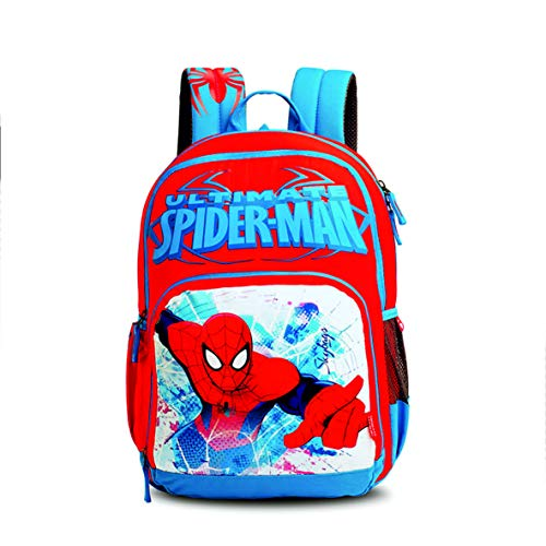Skybags SB Marvel Champ Spiderman 03 27 Ltrs Red Casual Backpack (SBMCSN3ERED)