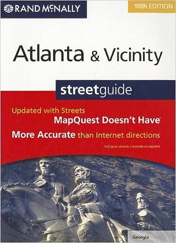 Rand Mcnally Atlanta, Georgia and Vicinity Streetguide (Rand