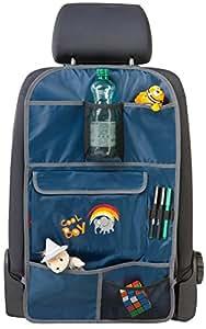 Walser 30699 Organizador para niños, bolso para asiento posterior Cool Boy, azul