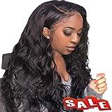 FASHION PLUS Hair Full Lace Wigs Human Hair, Brazilian Remy Human Hair Wigs