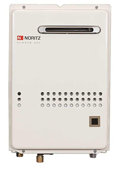 noritz nr66odng outdoor tankless water heater, max  140, 000 btuh, 6 6 gpm  - natural gas - - amazon com