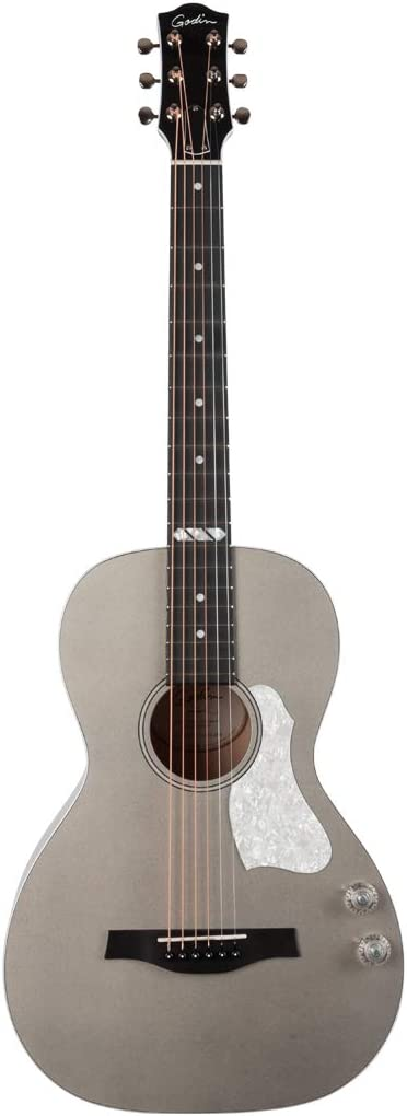 Godin Rialto Jr. Q-Discret, color gris satinado