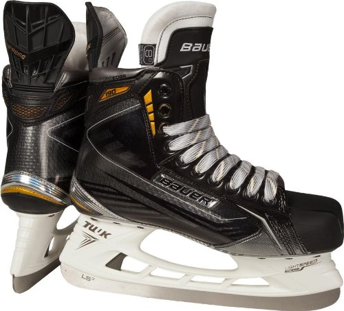 - Bauer Supreme 190 Ice Skates Junior - EE - Double Extra Wide - Shoe Size: USA 2.0