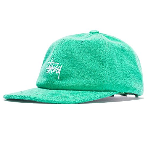 talla verde blanco Cloth Low Terry Pro Ajustable Gorra Stock Stussy Bq8Afw