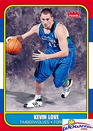 2bae58e91 Kevin Love 2008 09 Fleer  167 ROOKIE SHORTPRINT in Legendary 1986 1987 Fleer  Design Shipped in Ultra Pro Top Loader to Protect it! at Amazon s Sports ...