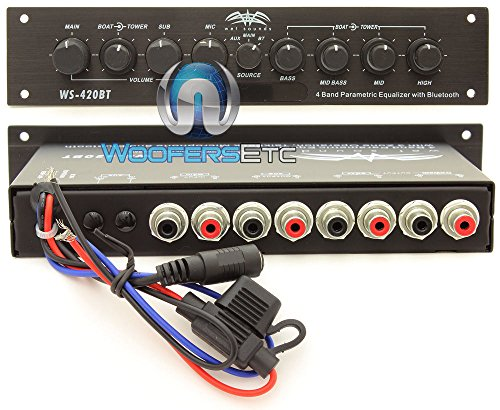 Amazon.com: WS-420BT - Wet Sounds Marine Audio Multi Zone Equalizer with Integrated Bluetooth by Wet Sounds: Electronics