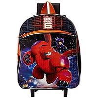 Mochila con ruedas Big Hero 6 de Disney para niños, Múltiple, Talla Única