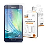 Orzly® - Premium Tempered Glass 0.24mm Protective Screen Protector For SAMSUNG GALAXY A3 SmartPhone / Phablet -Fits Every SM-A300F Model from 2014 Onwards