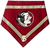 Collegiate Florida State Seminoles Pet Bandana, Medium/Large - Dog Bandana must-have for Birthdays, Parties, Sports Games etc..