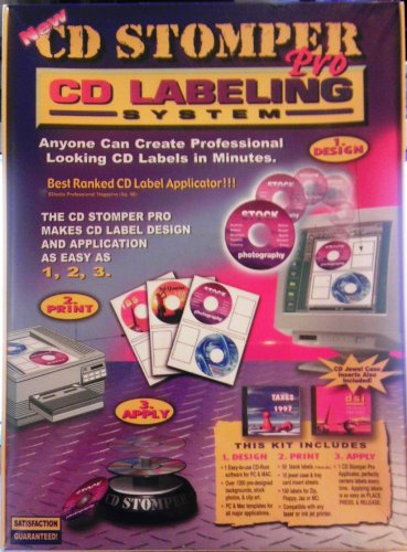 Cd Label Maker - CD Stomper Pro CD Labeling System