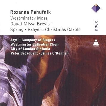 Panufnik Westminster Mass Douai Missa Brevis Christmas Carols By Westminster Cathedral Choir City Of London Sinfonia Peter Broadbent Amazon Com Music